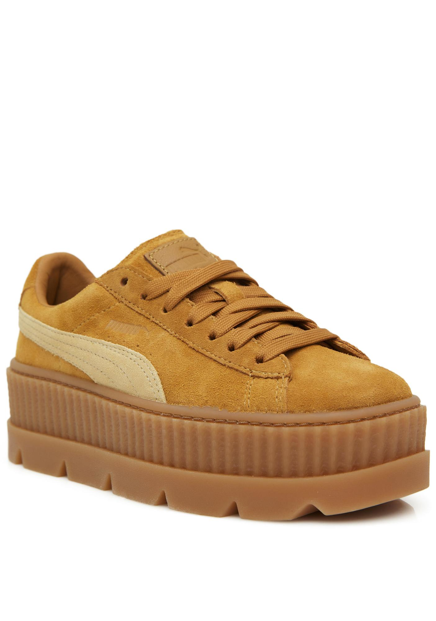 pretty nice 76d85 ead06 FENTY PUMA by Rihanna Cleated Suede Creepers