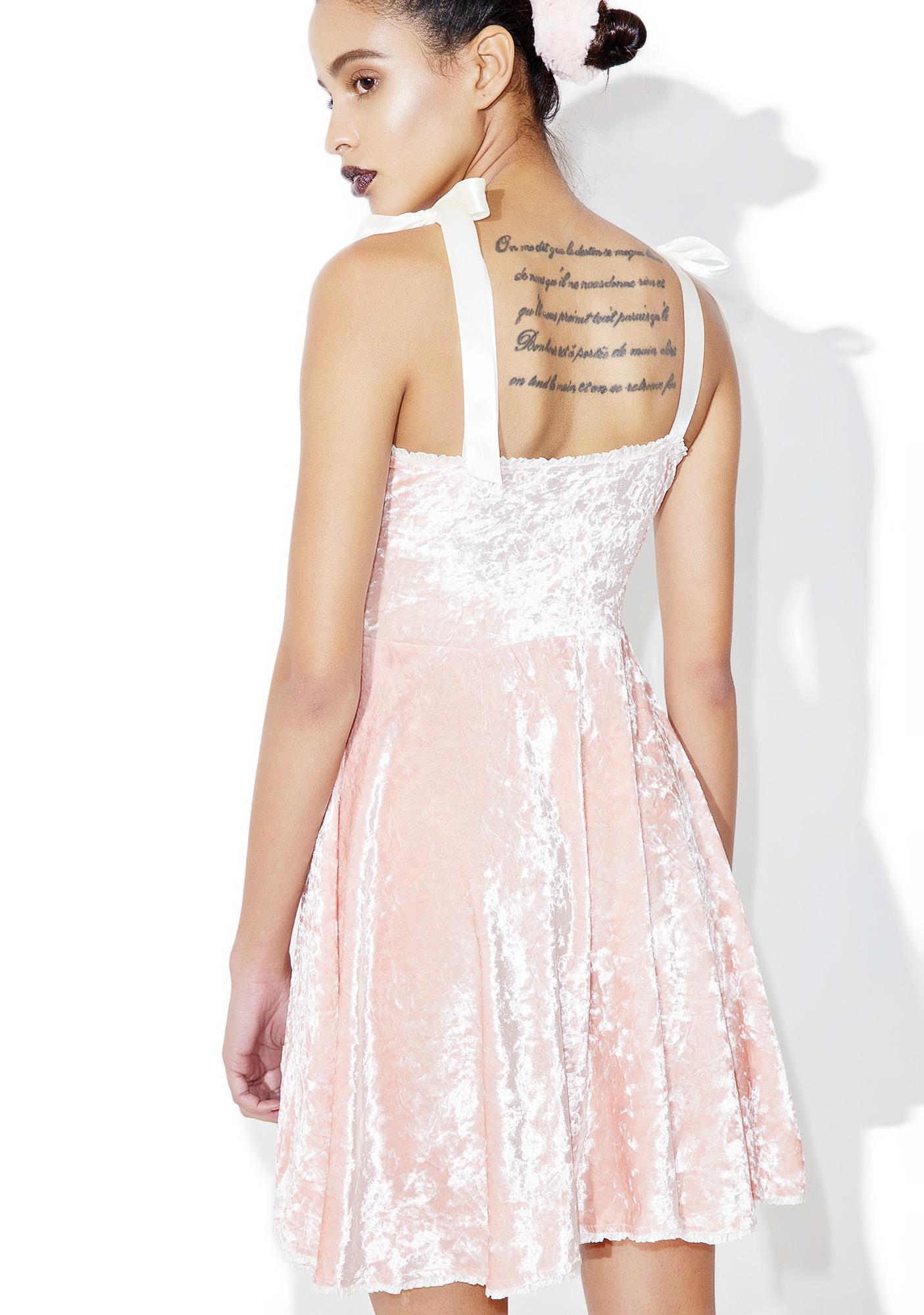 Current Mood Princess Velvet Crushin' Doll Dress
