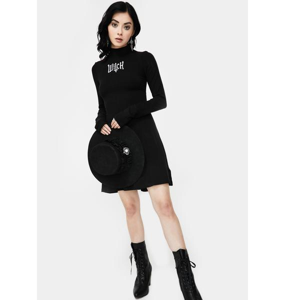 Killstar Witch Long Sleeve Dress
