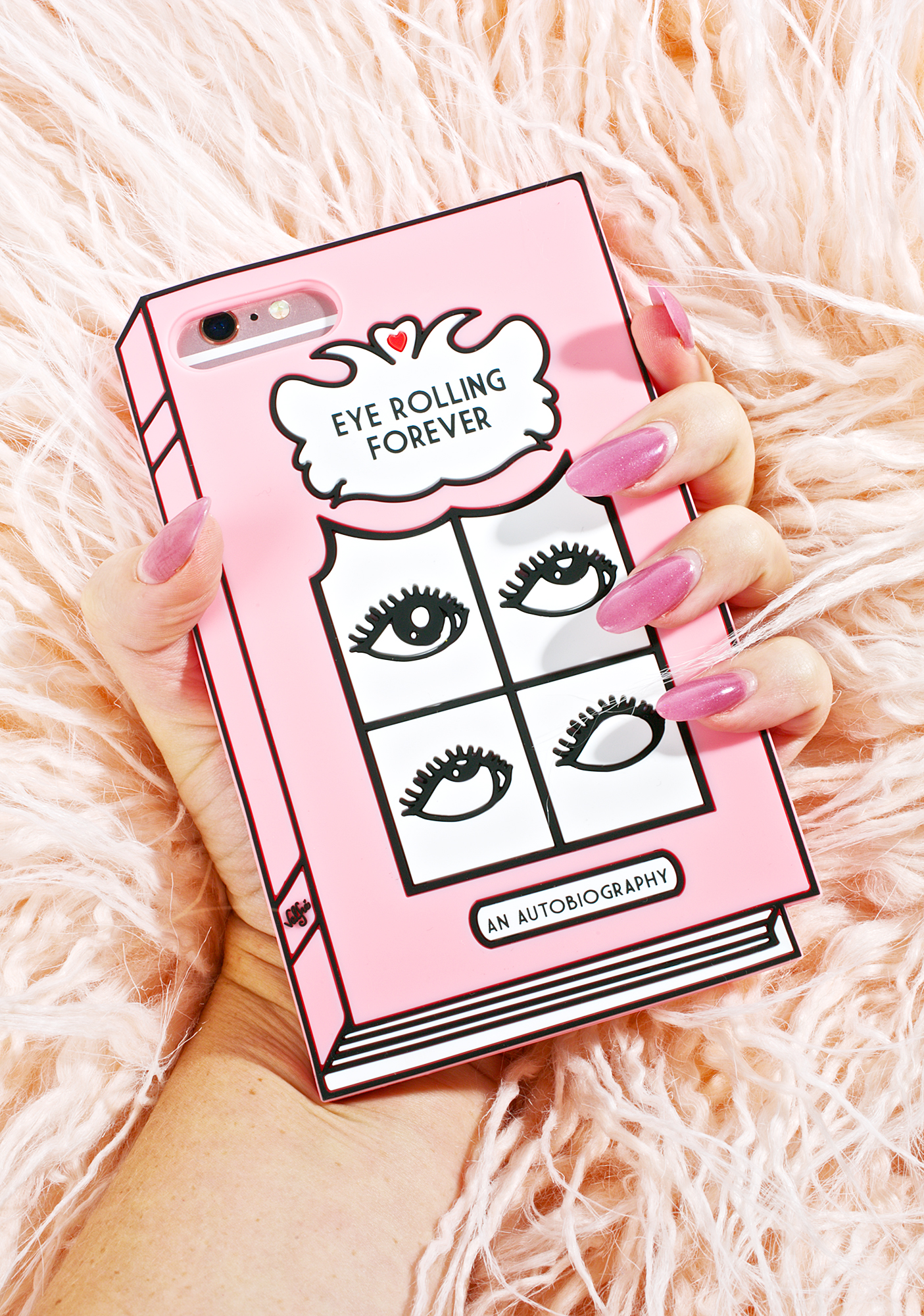 Valfr� Eye Rolling 3D iPhone Case