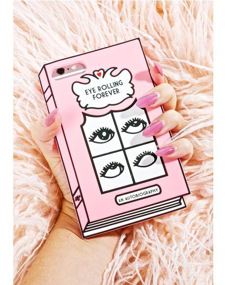 Eye Rolling 3D iPhone Case