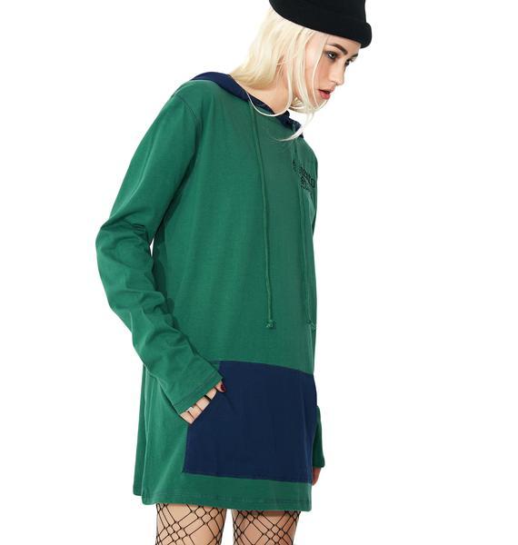 Current Mood Siento Nada Hoodie Dress
