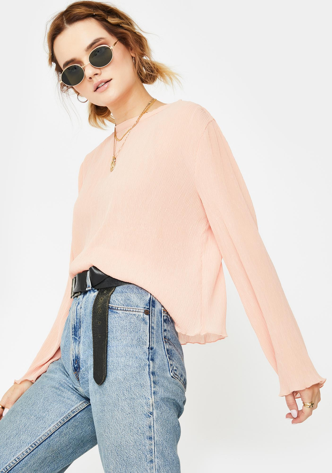 ZYA Marshmellow Long Sleeve Top