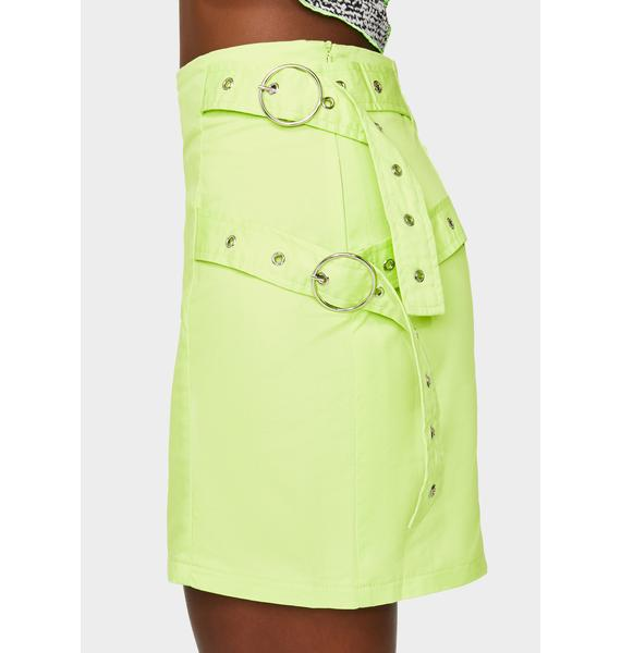The Ragged Priest Orbit Buckle Skirt