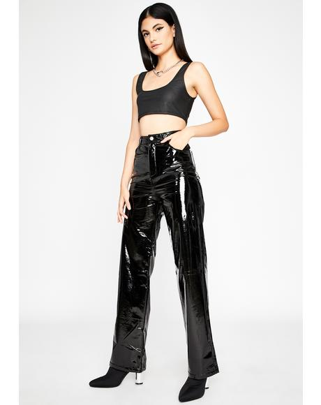 Major Trixx Vinyl Pants