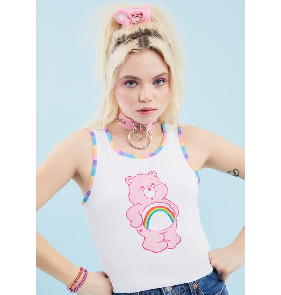 Dolls Kill x Care Bears Positive Thoughts Graphic Tank