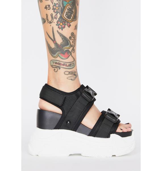 Anthony Wang Peach Platform Sandals