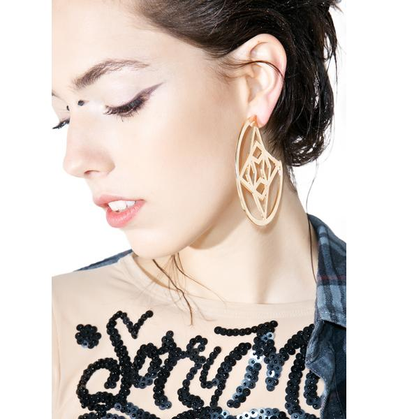 Runic Charm Earrings