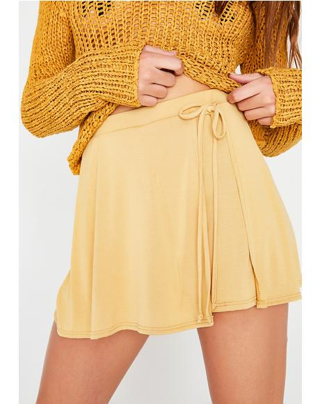 Miss Sunshine Tie Skort