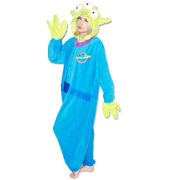 Sazac  Little Green Man Kigurumi