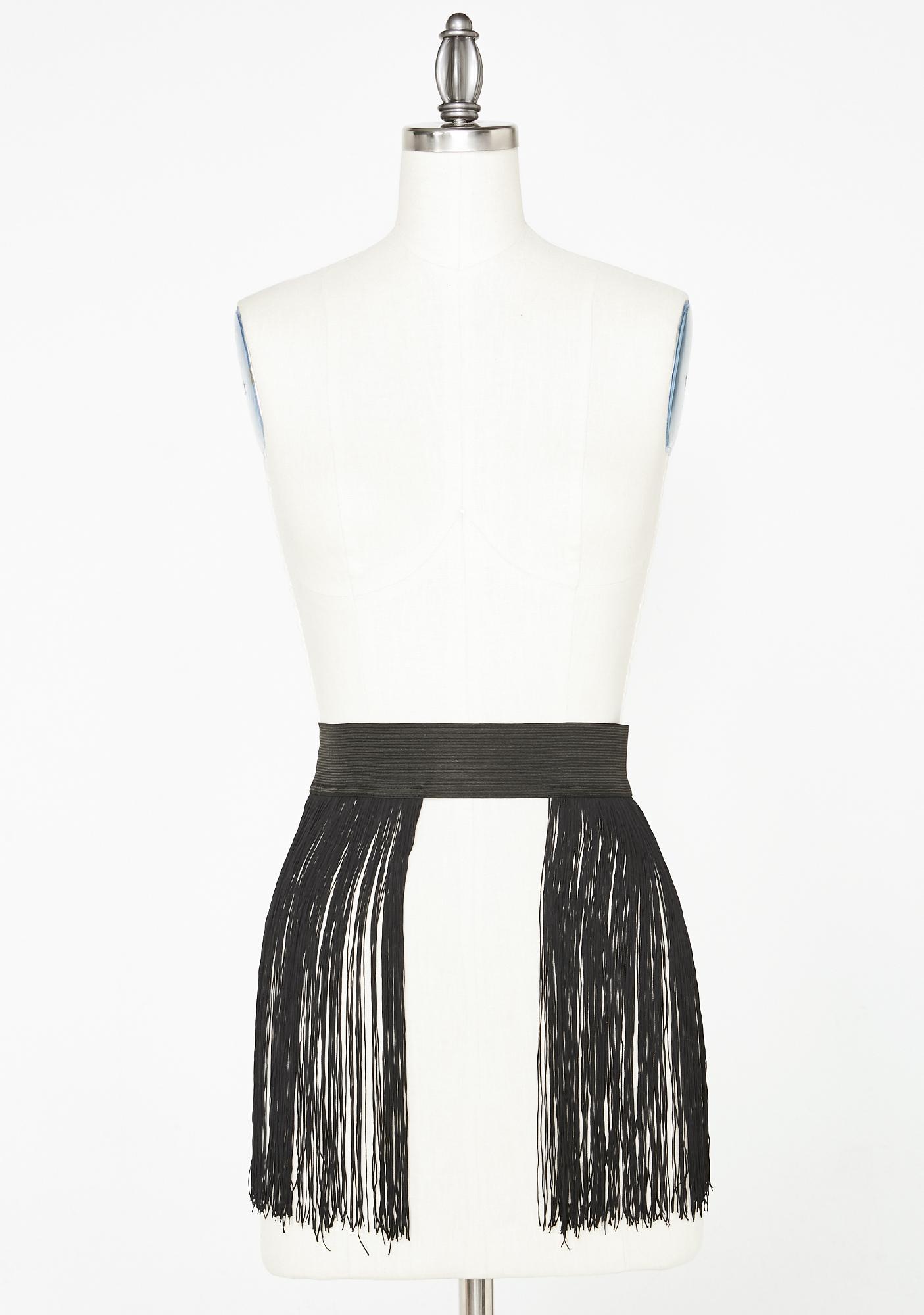 Club Exx Ambient Garden Fringe Skirt