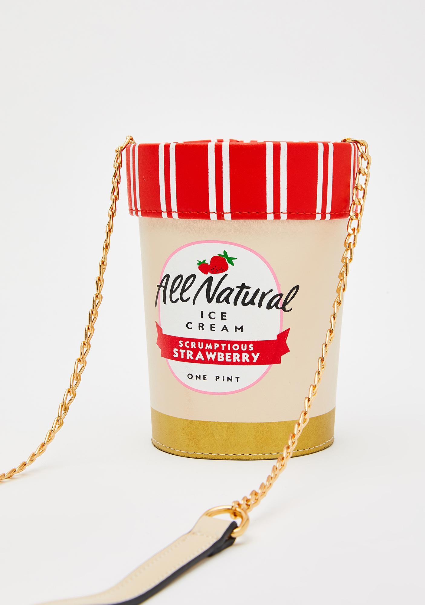 Berry Delicious Ice Cream Purse