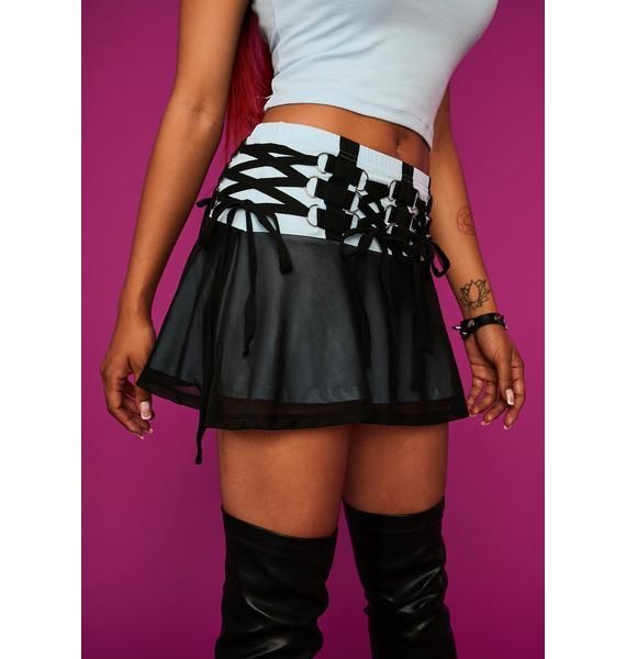 Dolls Kill x Bratz Ur So Last Season Mini Skirt