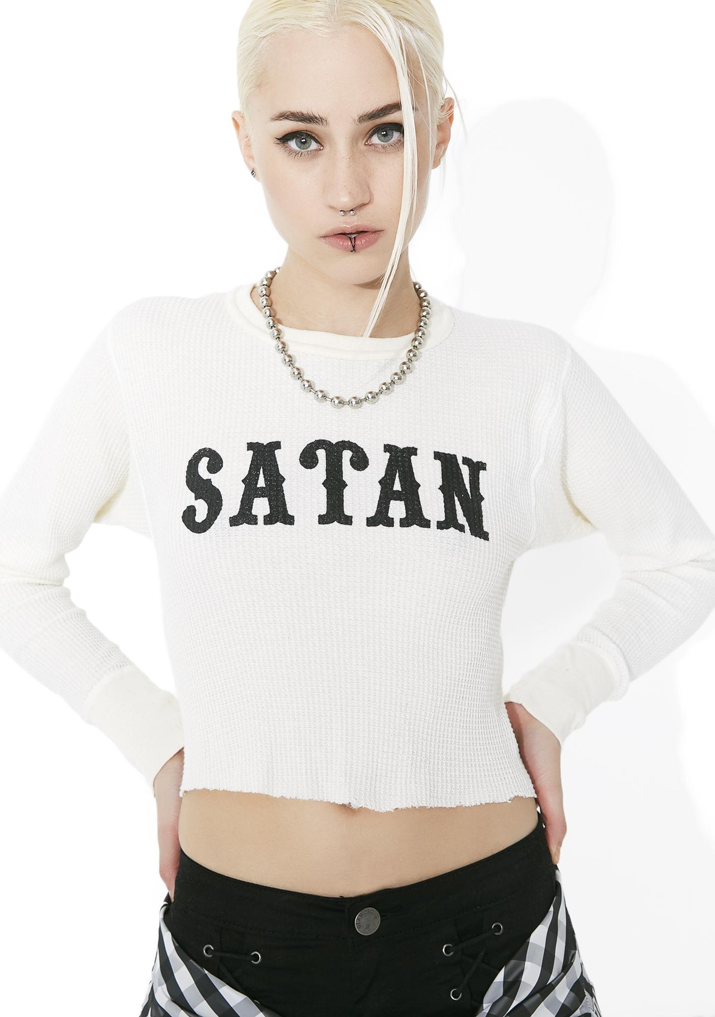 Local Boogeyman Satan Thermal Tee
