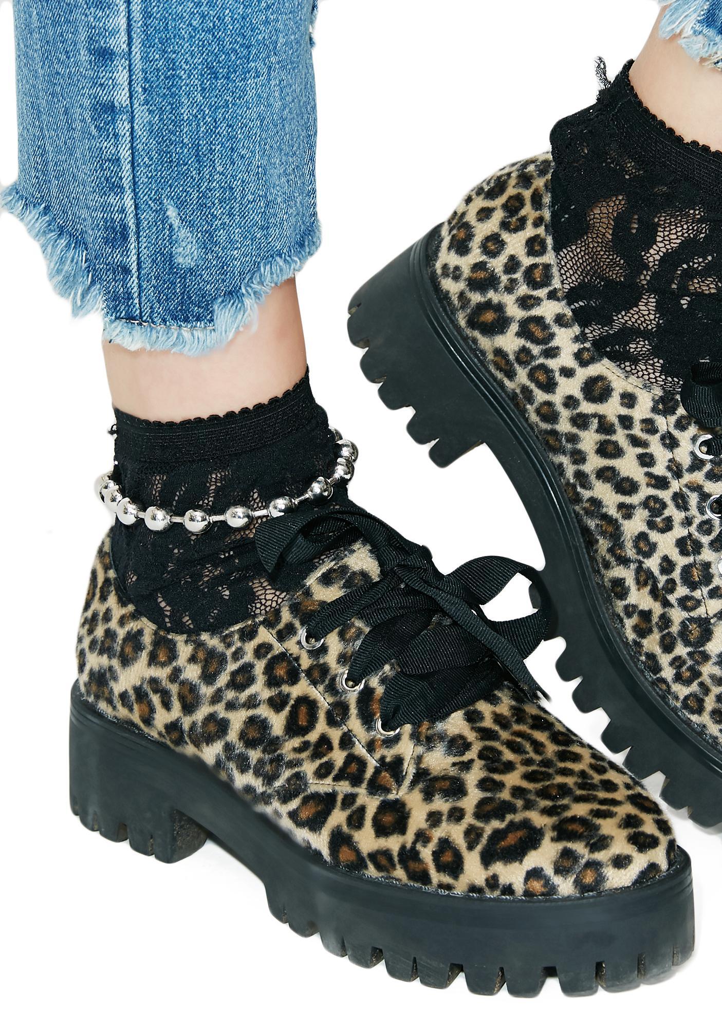 Ballin' Chain Anklet
