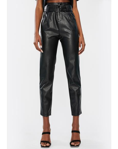 Loti Faux Leather Pants