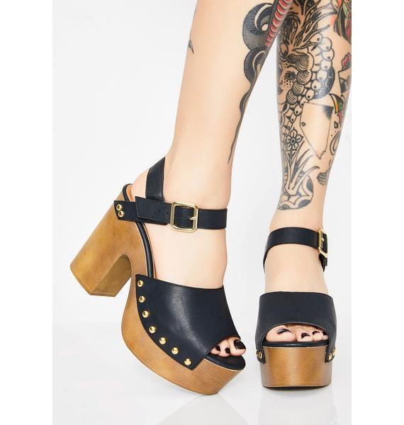 Shady Ladies Platform Sandals