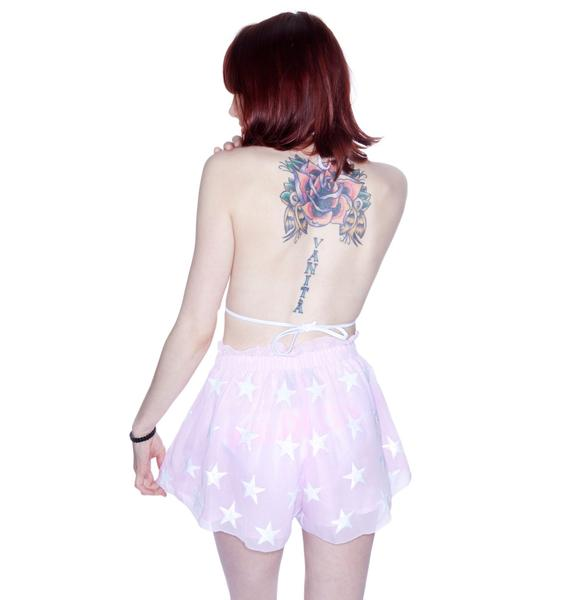Wildfox Couture Bright Star Rodeo Shorts