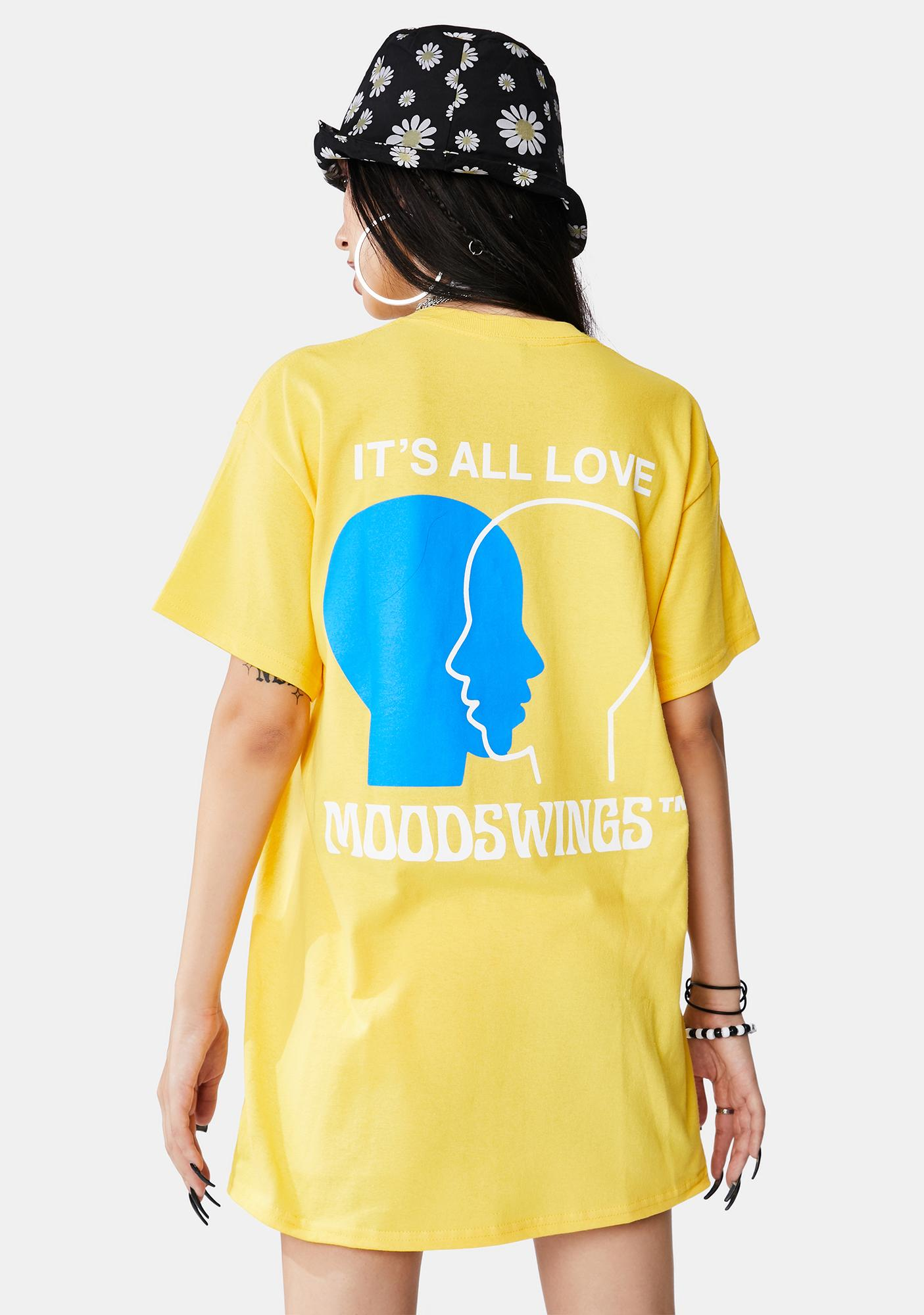 MOODSWINGS It's All Love Short Sleeve Graphic Tee