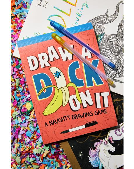Draw A Dick On It Book