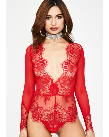 Addicted To You Lace Bodysuit
