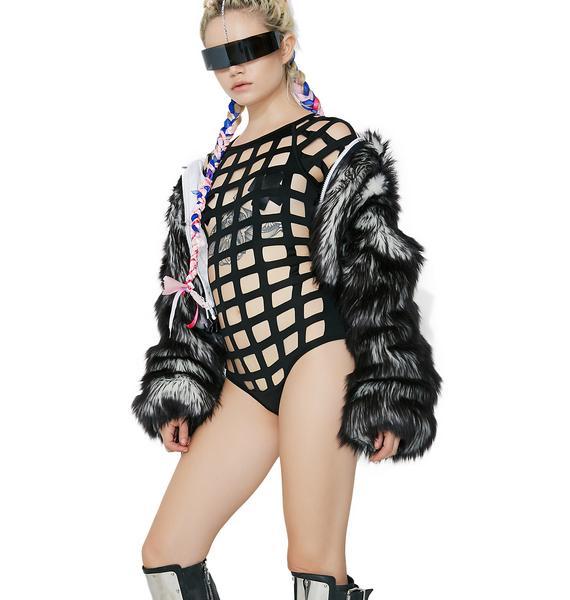 Off The Grid Cut Out Bodysuit