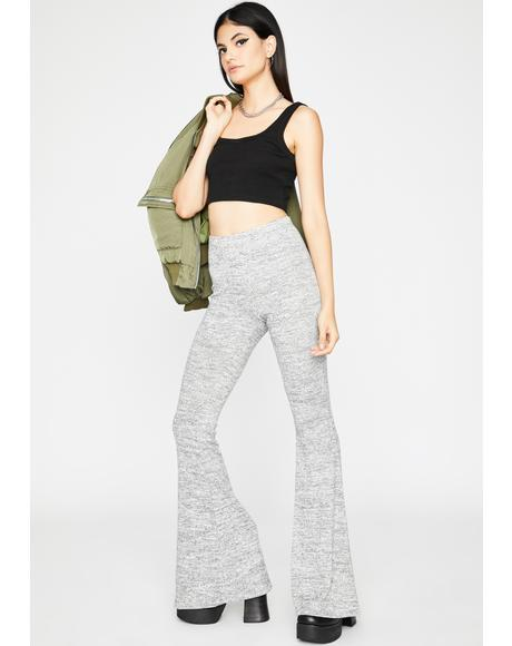 Coal Coolin' On You Flare Pants