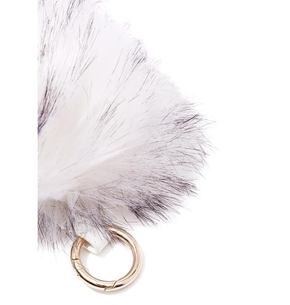 Fluff It Up Keychain