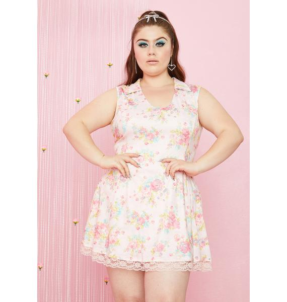 Sugar Thrillz I'm Somebody's Angel Mini Dress