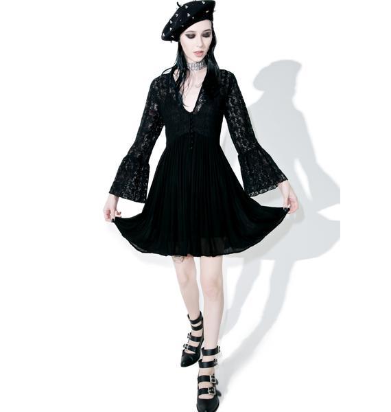 Glamorous Dark Tower Lace Dress