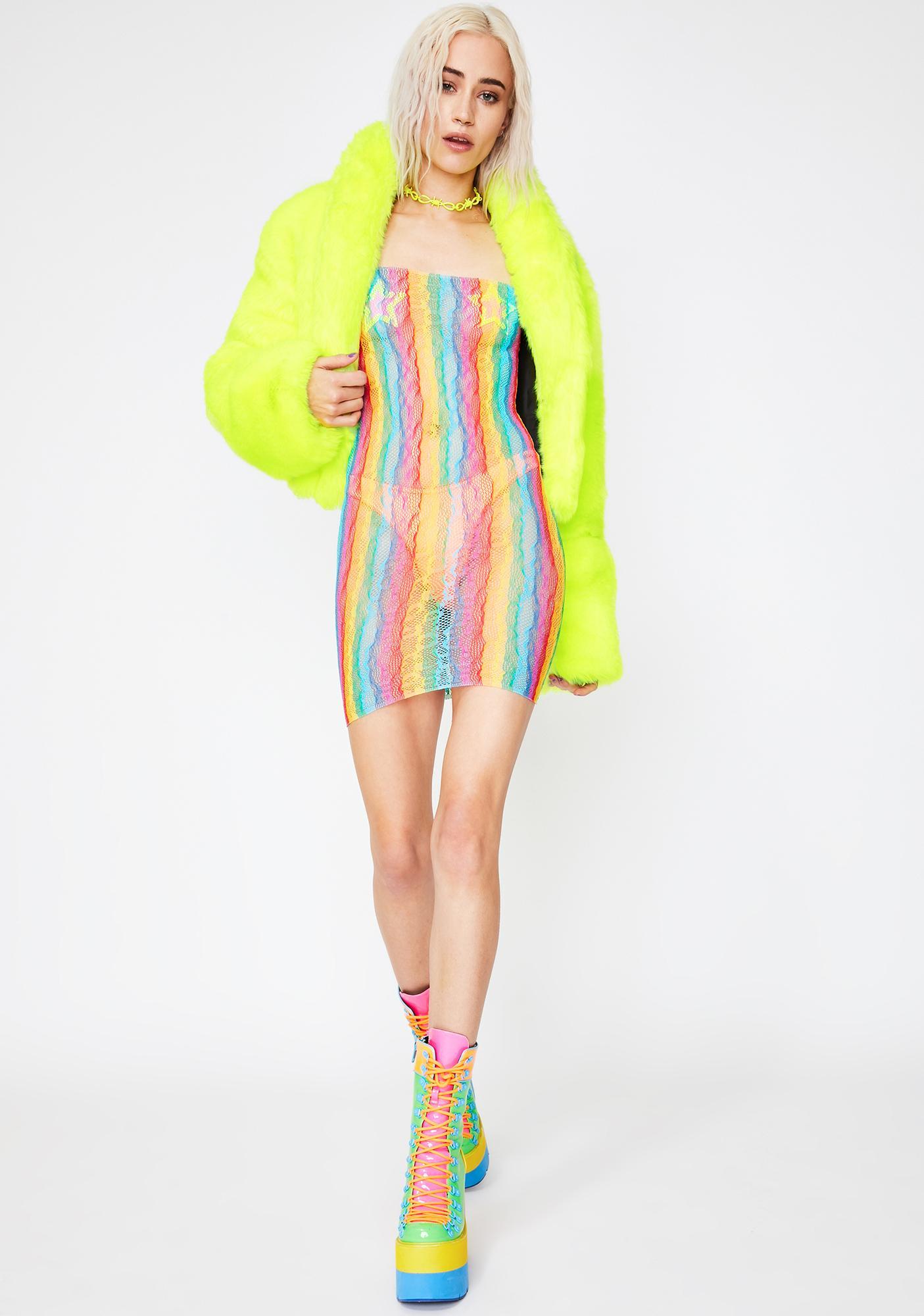 Epic Outlaw Lace Mini Dress