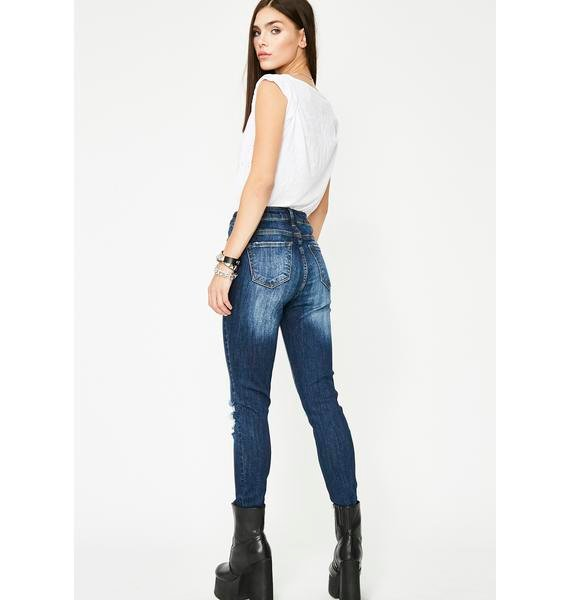 Cobalt Damsel In Distressed Jeans