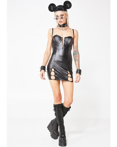 Adult Wasteland Cut-Out Dress