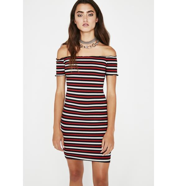 Get At Me Stripe Dress