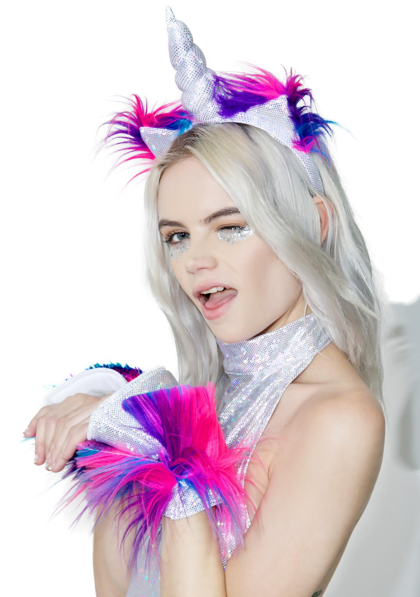 Dolls Kill Magick Unicorn Costume Set
