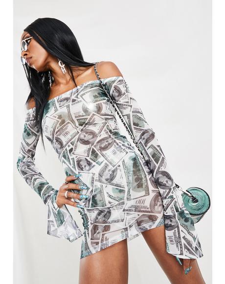100s Mini Dress