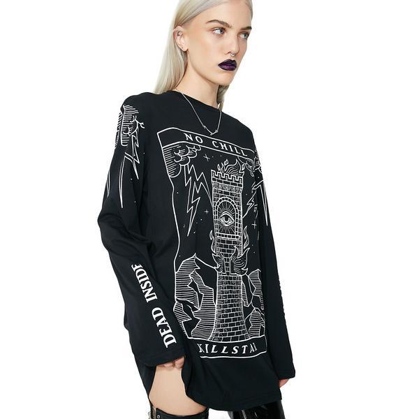 Killstar No Chill Long Sleeve T-Shirt