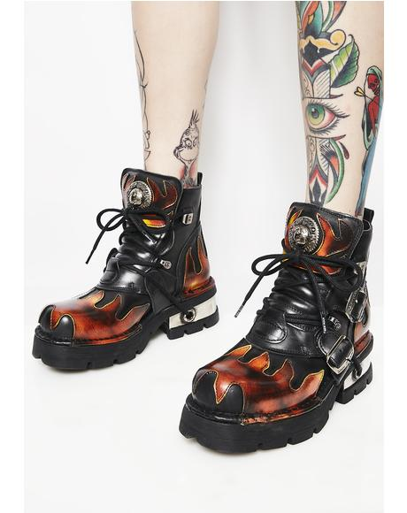 Let'z Blaze Ankle Boots