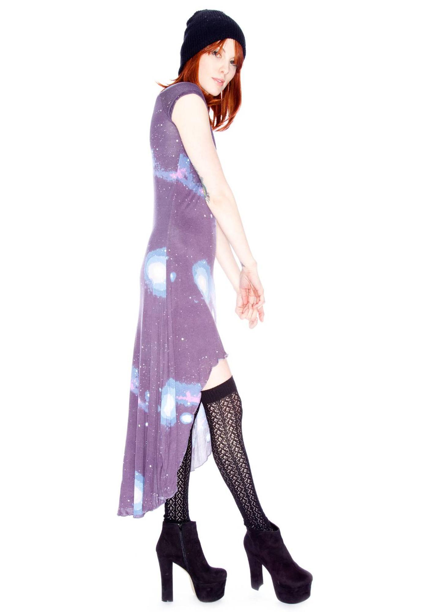 Sauce Cosmic Long Dress