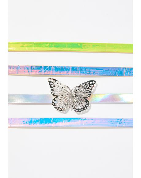 Cosmic Princess Butterfly Choker Set