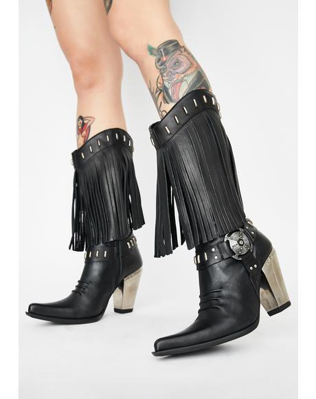 Nomada Fringe Boots