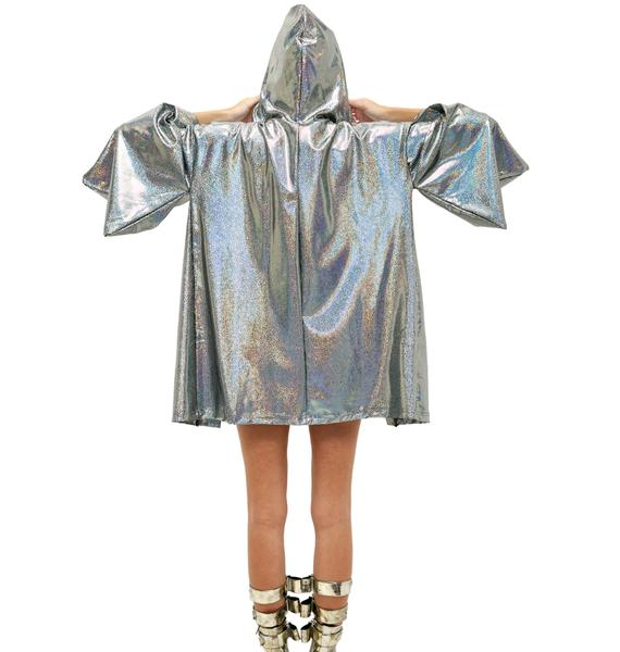 Little Black Diamond Metallic Dreamweaver Kimono