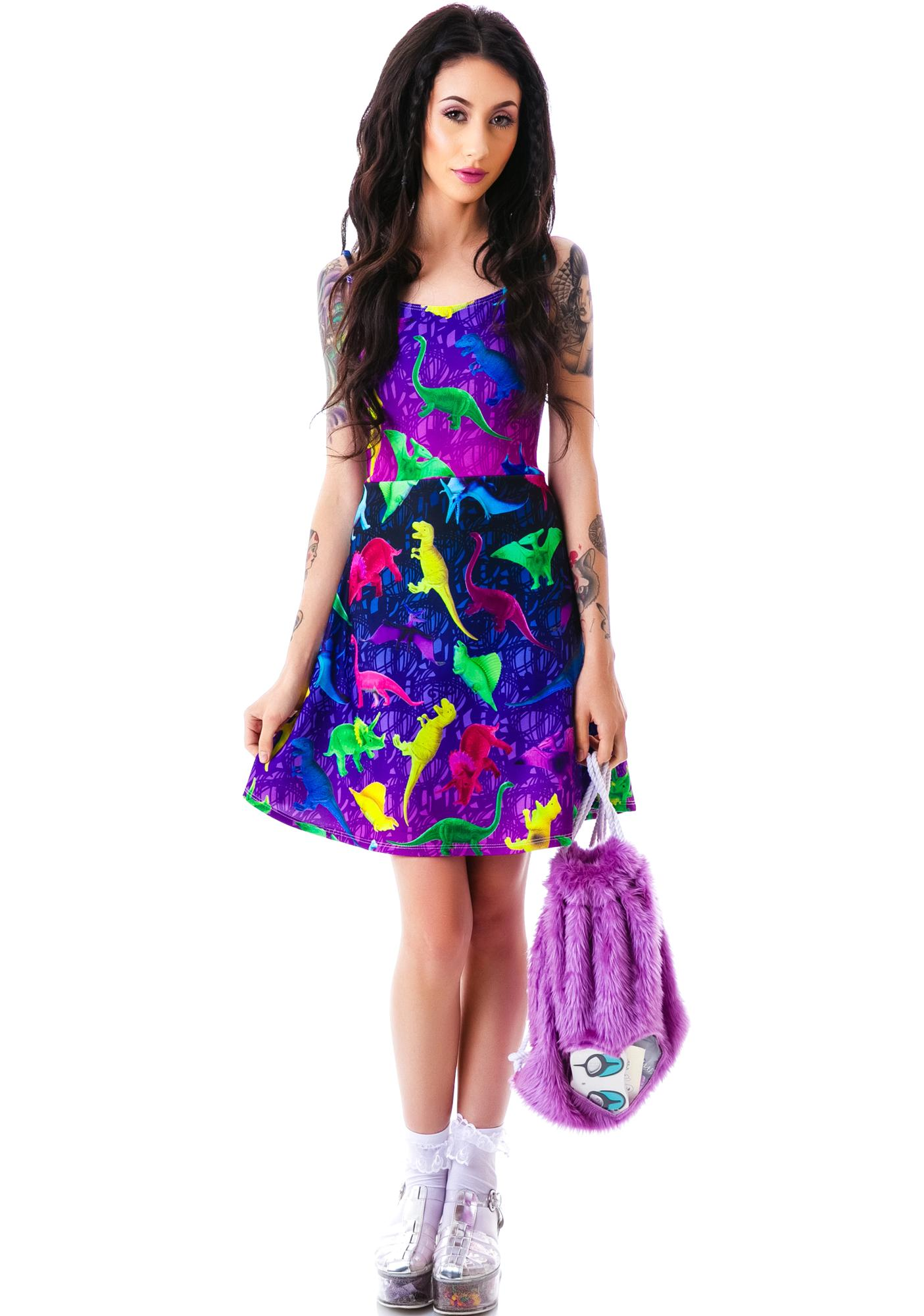 Japan L.A. Japan L.A. Toy Dinos Strappy Dress