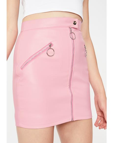 Bubblegum Squad Leader Mini Skirt