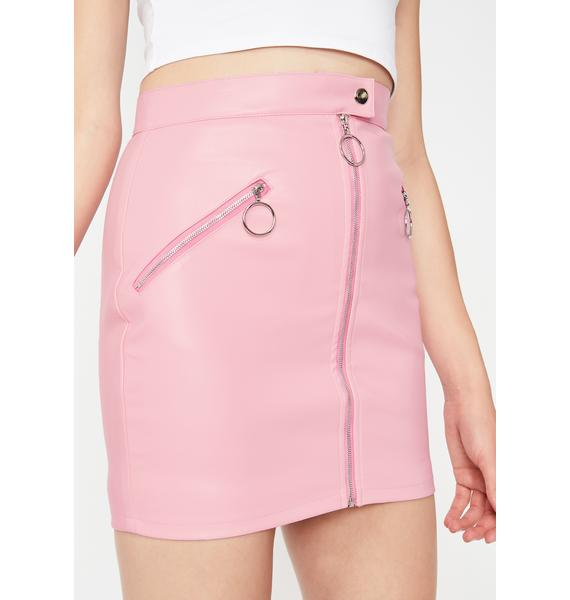 Bubblegum Squad Leader Mini Skirt