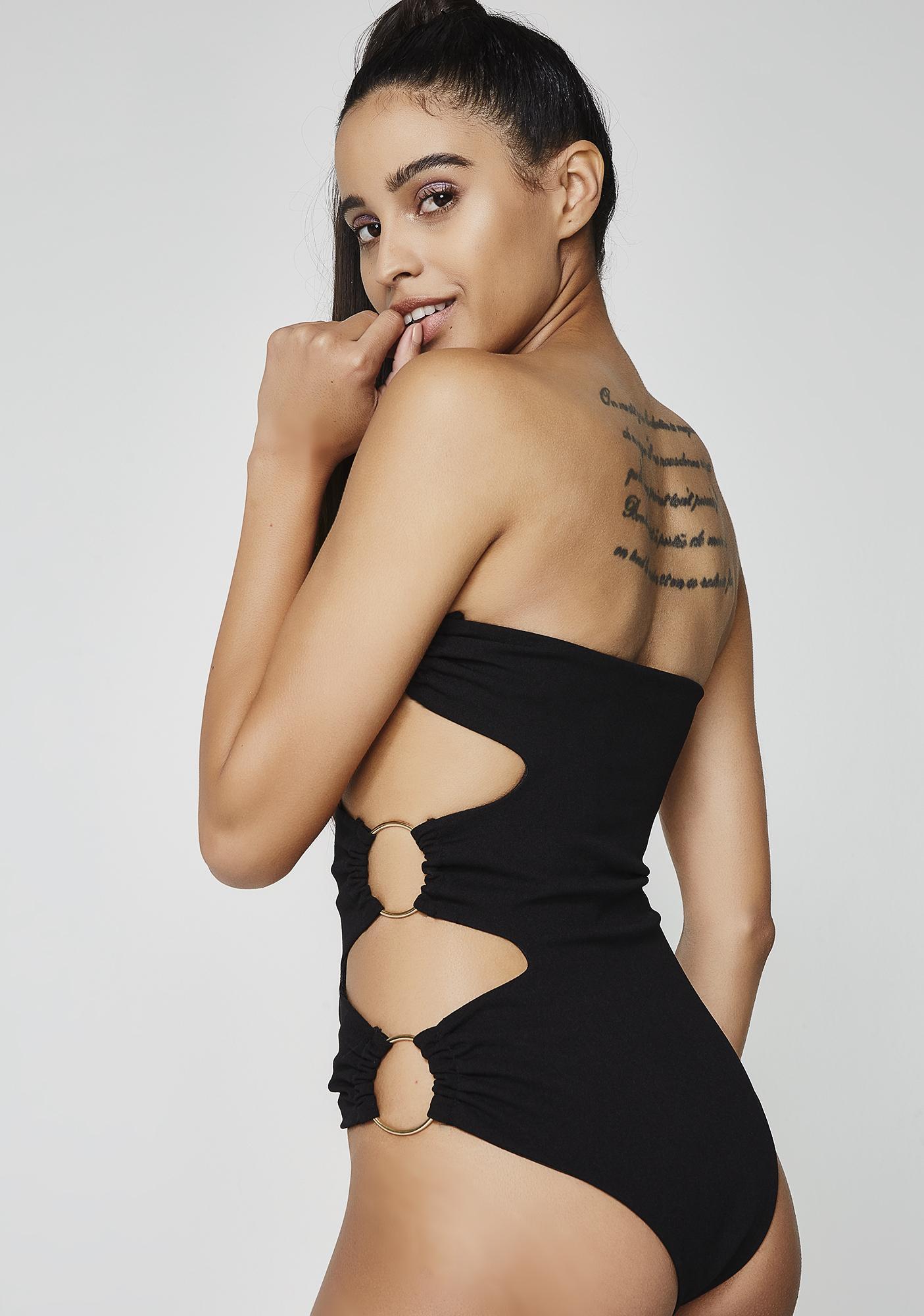 Issa Come Back Cutout Bodysuit