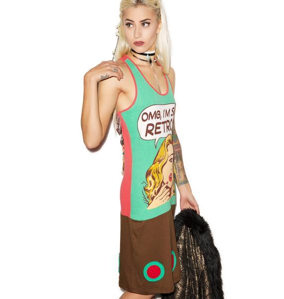 I'm So Retro Pop Tank Dress