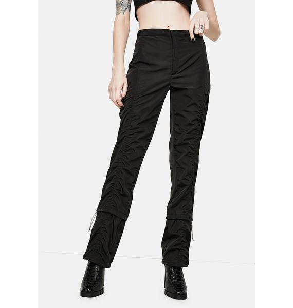 ZEMETA Ruched Future Pants