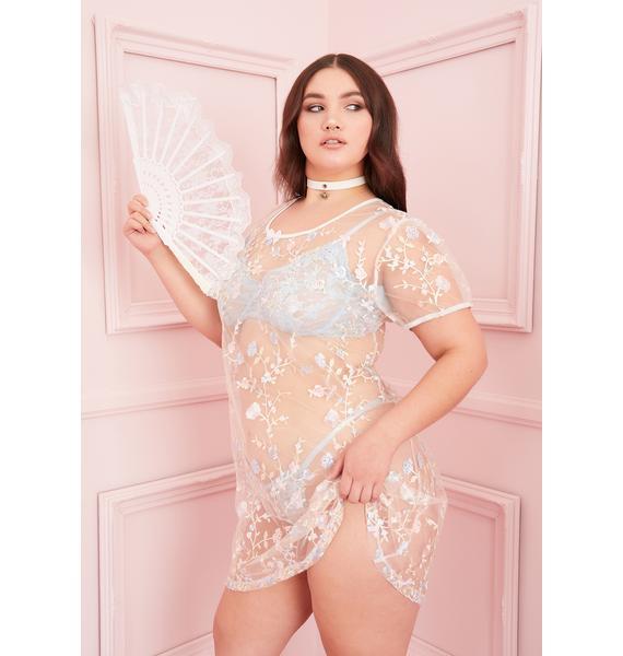 Sugar Thrillz Divine Forbidden Garden Embroidered Dress