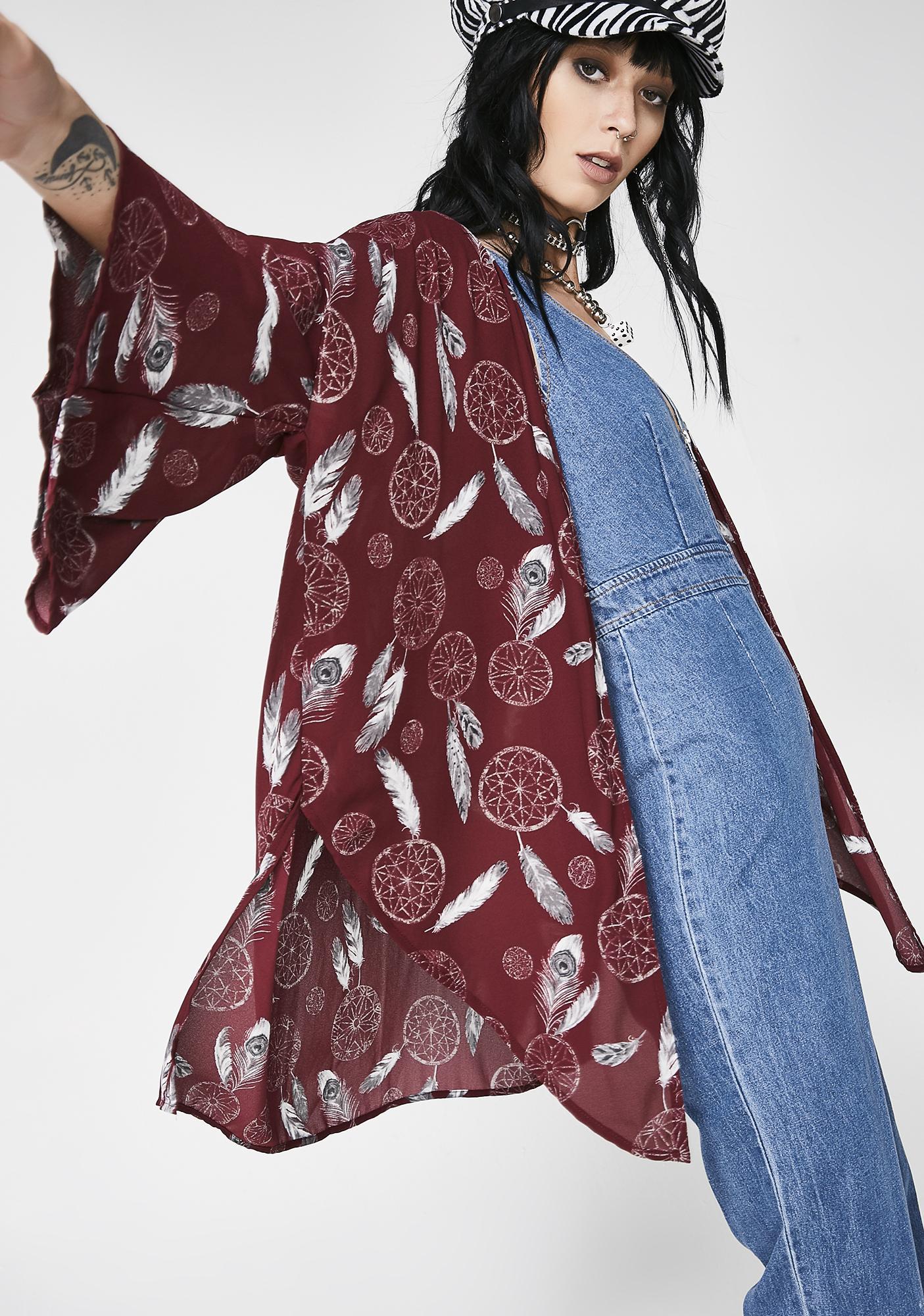 Dreaming About Me Short Kimono